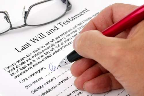 What should you not include in your will?